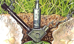 Security Poster: PSM-1 Bulgarian A/P Mine