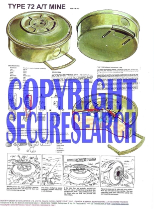 Security Poster: Type 72 Anti-Tank Mine