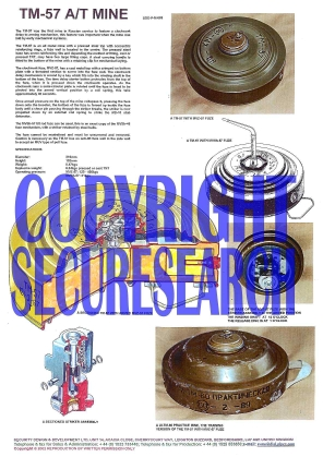 Security Poster: TM-57 Russian Anti-Tank Mine