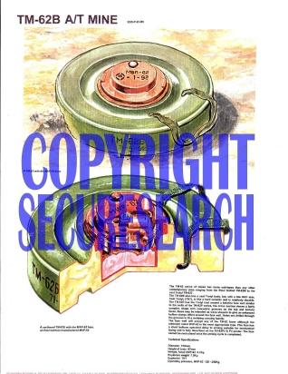 Security Poster: TM-62B Russian Anti-Tank Mine