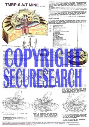 Security Poster: TMRP-6 Yugoslavian Anti-Tank Mine