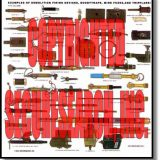 Security Poster: Examples of Demolition Firing Devices, Boobytraps, Mine Fuzes and Tripflares