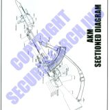 Security Poster: Automat Kalashnikov Modernized – Sectioned