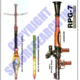 Security Poster: FSU / Russian RPG-7 Rocket Propelled Grenade and Launcher