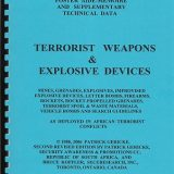 Security Poster Booklet: Full Size Poster Book Terrorist Weapons and Explosive Devices